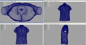 3Dで服のモデリング_3Dでモデリング