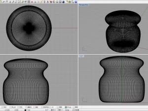 3Dプリンターできのこスツール