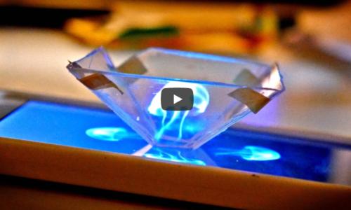 スマホで簡単に3Dホログラム映像を作る方法